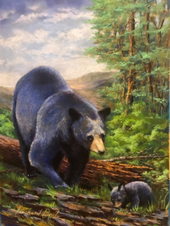 Mother and Cub by artist Richard Banh