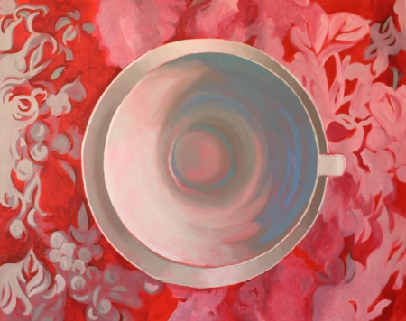 Cup and Saucer III by artist Barbara Cooledge