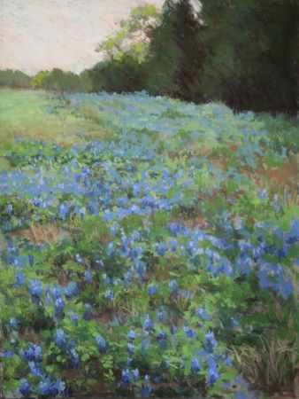 Blue Haven spring by artist Jan Frazier