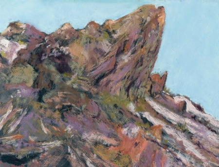 Near Tuff Canyon by artist Robin Lively